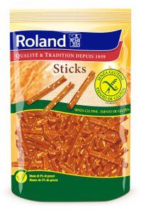 Roland - Sticks Bastoncini Snack Senza Glutine Confezione 100 Gr