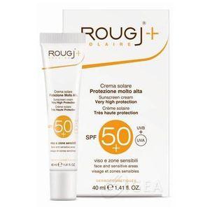 Rougj - Crema Sole Viso Spf 50+ Alta Protezione Confezione 40 Ml