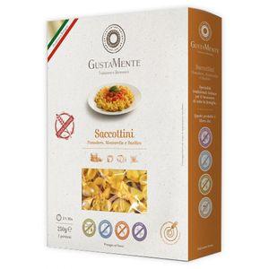 Gustamente - Saccottini Pomodoro Ricotta e Basilico Senza Glutine Confezione 250 Gr (Scadenza Prodotto 14/03/2021)