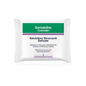 Somatoline - Viso Salviette Struccanti Confezione 20 Pezzi