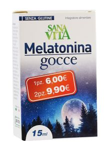 Sanavita - Melatonina Gocce 15 Ml