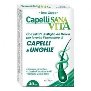 Sanavita - Capelli e Unghie Confezione 30 Compresse