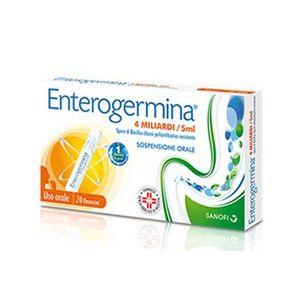 Enterogermina - Fermenti Lattici 4 Miliardi Sospensione Orale Confezione 20 Flaconcini
