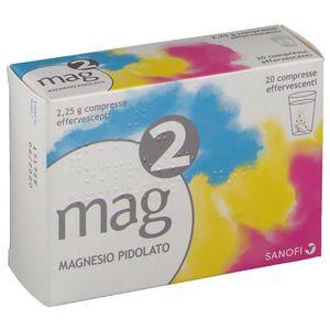 Mag - 2 2.25 G Effervescente Confezione 20 Compresse