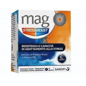 Mag - Stress Resist Stick Confezione 30 Bustine (Scadenza Prodotto 28/11/2021)