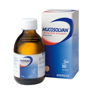 Mucosolvan - Sciroppo 15 Mg/5 Ml Confezione 200 Ml