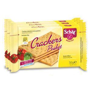 Schar  - Crackers Pocket Senza Glutine Confezione 3X50 Gr