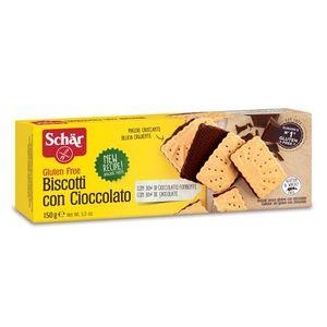 Schar - Biscotti Cioccolato Senza Glutine  Confezione 150 Gr