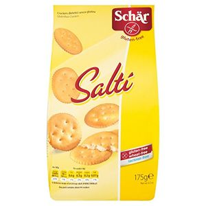 Schar - Salti Salatino Senza Glutine Confezione 175 Gr (Scadenza Prodotto 25/08/2021)