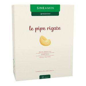 Sineamin - Pipe Rigate Pasta Aproteica e Senza Glutine Confezione 500 Gr