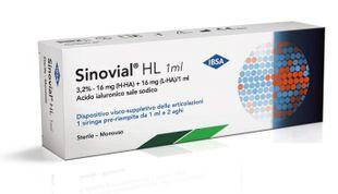 Sinovial - Hl 3.2% 16 Mg Confezione 1 Siringa Fiala Preriempita 1 Ml (Dispositivo Medico CE)