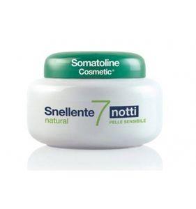 Somatoline - Crema Snellente 7 Notti Natural Confezione 400 Ml