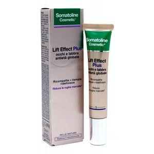 Somatoline - Cosmetic Lift Effect Plus Antietà Globale Occhi E Labbra Confezione 15 Ml