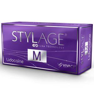 Stylage - M Con Lidocaina Confezione Da 2 Siringhe Preriempite Da 20 Mg 1 Ml