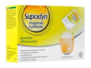 Supradyn - Magnesio e Potassio Confezione 24 Bustine