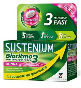 Sustenium - Bioritmo 3 Donna Ad Confezione 30 Compresse
