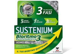 Sustenium - Bioritmo 3 Uomo 60+ Confezione 30 Compresse (Scadenza Prodotto 28/03/2021)