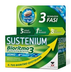 Sustenium - Bioritmo 3 Uomo Ad Confezione 30 Compresse