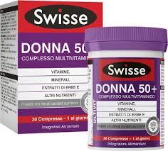 Swisse - Multivitaminico Donna 50+ Confezione 30 Compresse