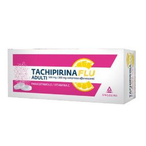 Tachipirina - Flu Adulti 500 Mg+200 Mg Confezione 12 Compresse