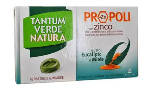 Tantum Verde - Natura Eucalipto & Miele Confezione 15 Pastiglie