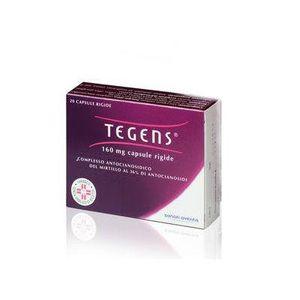 Tegens - 160 Mg Confezione 20 Capsule (Scadenza Prodotto 28/08/2021)
