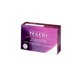 Tegens - 160 Mg Granulato Confezione 20 Bustine