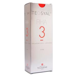 Teosyal - Rha 3 Con Lidocaina Confezione 2X1 Ml