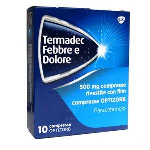 Termadec - Febbre e Dolore 500 Mg Confezione 10 Compresse