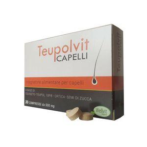 Teupolvit - Capelli Confezione 30 Compresse (Scadenza Prodotto 28/05/2021)