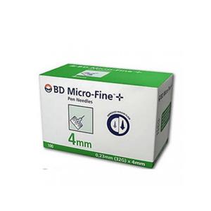 Bd - Thinwall Ago Penna Insulina G32 4MM Confezione 100 Pezzi
