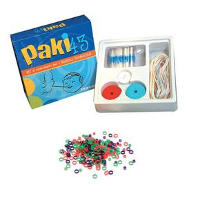 Paki 43 - Kit Paki43 + Confezione 100 Elastici Ortodontici Trasparenti Misura 5/16