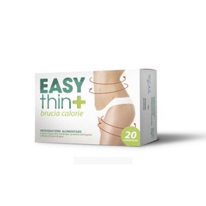 Tocas - Easythin+ Brucia Calorie Confezione 20 Compresse (Scadenza Prodotto 28/06/2021)