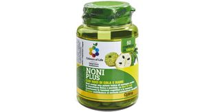 Optima naturals - Colours Of Life Noni Plus Con Noci Di Cola e Rame Confezione 60 Compresse