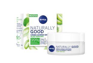 Nivea - Naturally Good Bio Aloe Vera Crema Giorno Pelli Normali E Miste Confezione 50 Ml