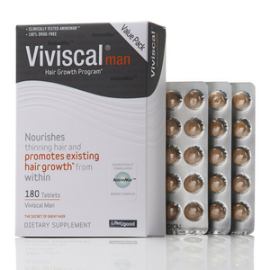 Viviscal - Man Supplements Confezione 180 Compresse