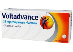 Voltadvance - 25 Mg Confezione 20 Compresse