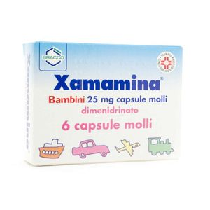 Xamamina - Bimbi Confezione 6 Capsule