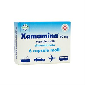 Xamamina - Confezione 6 Capsule